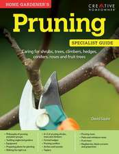 Home Gardener's Pruning