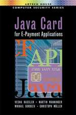 Java Card for E-Payment Applications