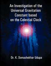 An Investigation of the Universal Gravitation Constant Based on the Celestial Clock:  A Project Plan to Develop One