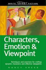Characters, Emotion & Viewpoint