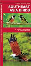 Southeast Asia Birds: A Folding Pocket Guide to Familiar Species