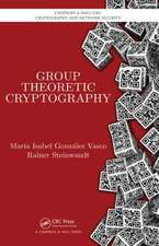 Group Theoretic Cryptography