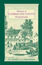 History of Cumberland County, Pennsylvania