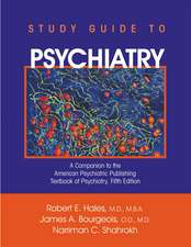 Hales, R: Study Guide to Psychiatry