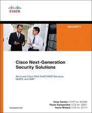Cisco Next-Generation Security Solutions:  All-In-One Cisco Asa Firepower Services, Ngips, and Amp