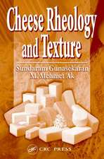 Cheese Rheology and Texture