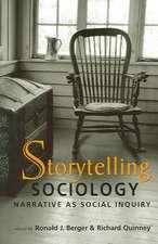 Storytelling Sociology