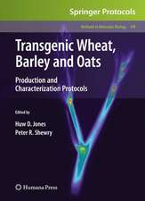 Transgenic Wheat, Barley and Oats: Production and Characterization Protocols