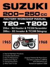 Suzuki T20 & T200 1965-1969 Factory Workshop Manual