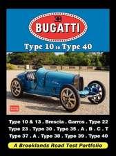 Bugatti - Type 10 to Type 40 Road Test Portfolio