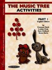 The Music Tree Activities, Part 1
