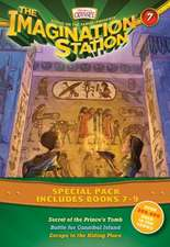 The Imagination Station Special Pack, Books 7-9:  Secret of the Prince's Tomb/Battle for Cannibal Island/Escape to the Hiding Place