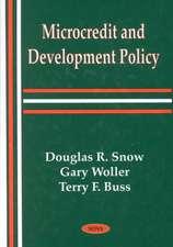 Microcredit & Development Policy