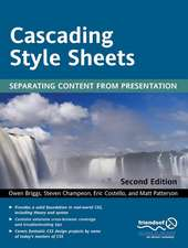 Cascading Style Sheets: Separating Content from Presentation