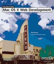 Foundation Mac OS X Web Development