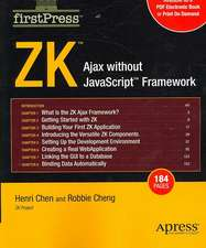 ZK: Ajax without the Javascript Framework