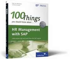 HR Management with SAP