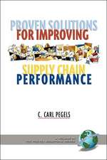 Proven Solutions for Improving Supply Chain Performance (PB)