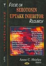 Focus on Serotonin Uptake Inhibitor Research