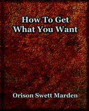 How to Get What You Want (1917):  The History of Netherlands