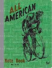Bicyclist Vintage Notebook