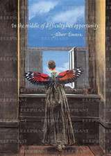 Winged Woman at Window - Greeting Card