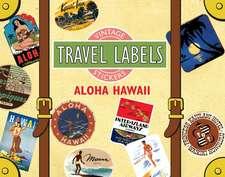 Aloha Hawaii Travel Labels