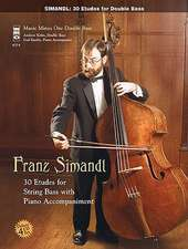 Simandl - Complete Etudes:  4-CD Double Bass Play-Along
