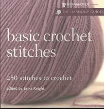 Basic Crochet Stitches:  250 Stitches to Crochet