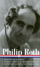 Philip Roth:  A Trilogy and Epilogue 1979-1985
