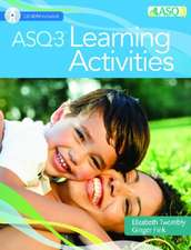 ASQ-3 Learning Activities with Access Code [With CDROM]