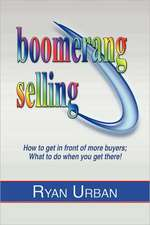 Boomerang Selling:  The Game