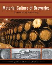 Material Culture of Breweries:  Material Culture of the Dutch East India Company at the Cape