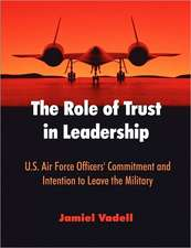 The Role of Trust in Leadership