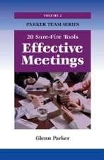 Parker, G:  Effective Meetings