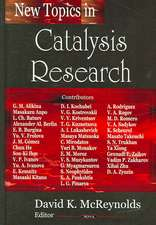 New Topics in Catalysis Research