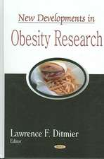 New Developments in Obesity Research