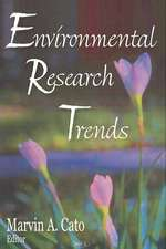 Environmental Research Trends
