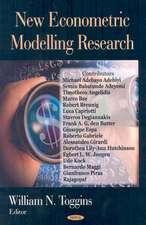 New Econometric Modelling Research