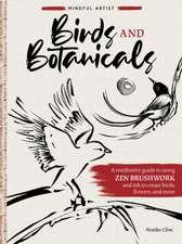 MINDFUL ARTIST BIRDS BOTANICALS