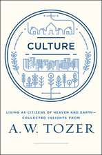 Culture:  Insights from A.W. Tozer