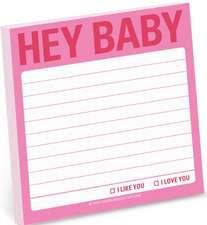 Hey Baby Sticky Note