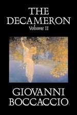 The Decameron, Volume II