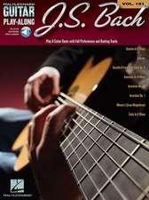J.S. Bach - Guitar Play-Along Volume 151 (Book/CD)