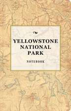 Yellowstone National Park Signature Notebook