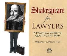 Shakespeare for Lawyers