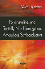 Polycrystalline and Spatially Non-Homogenous Amorphous Semiconductors