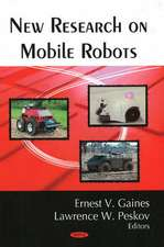 New Research on Mobile Robots