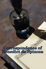Correspondence of Benedict de Spinoza