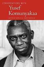 Conversations with Yusef Komunyakaa